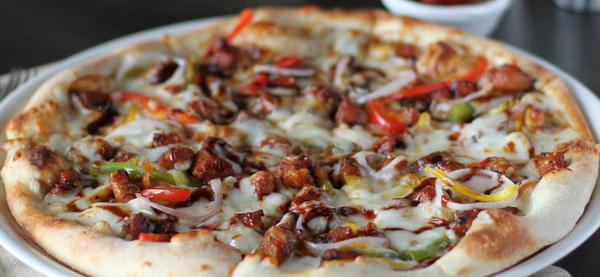 Bbq chicken pizza   47.25 aed
