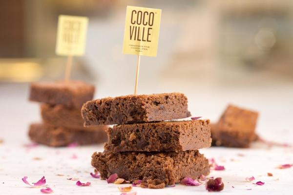 Cocoville brownies