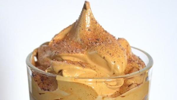 Iced dalgona coffee glazy