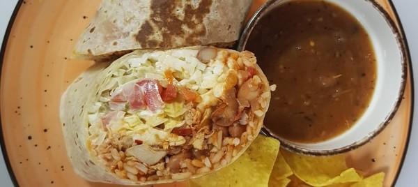 Burrito tinga