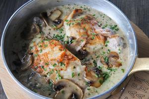 Drivu Baked Chicken Mushroom