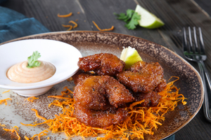 Drivu Jalapeno Glazed Shrimp