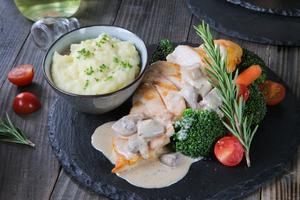 Drivu Grilled Chicken Mushroom