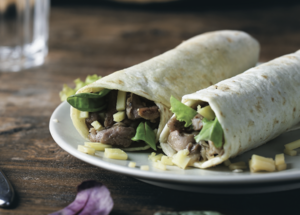 Drivu Beef Quesadilla Wrap