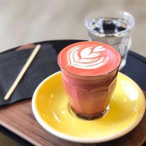 Drivu Hot Red Velvet Latte
