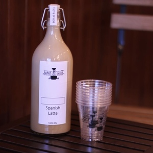Drivu Iced Spanish Latte - 1 liter bottle