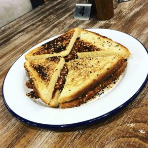 Drivu Cheesy Tomato Toast