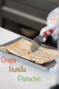 Drivu Crepe Nutella Pistachio