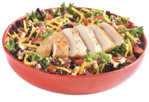 Drivu Grilled Chicken Club Salad