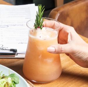 Drivu Grapefruit & Rosemary Lemonade