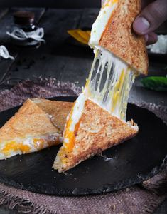 Drivu Chicken Cheese Toast