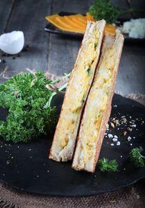 Drivu Egg & Cheese Toast
