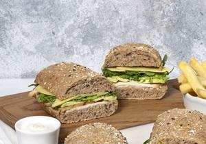 Drivu Chicken & Avocado Sandwich