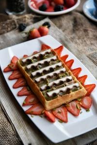 Drivu Pistachio + Kinder Waffle