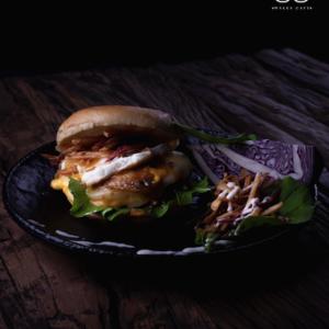 Drivu Eggy Beef Burger