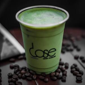 Drivu Matcha Iced Latte