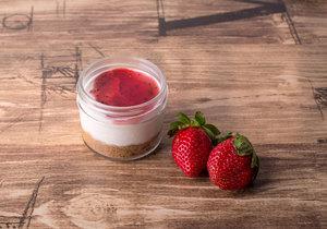 Drivu Mini Strawberry Cheesecake
