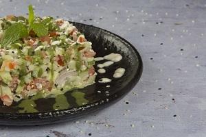 Drivu Kachumber Salad سلطة كاشومبر