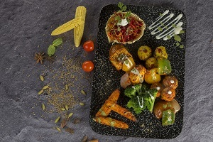 Drivu Assorted Veg Platter طبق خضار متنوع