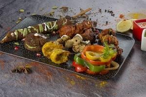Drivu Assorted Non Veg Platter  طبق غير نباتي متنوع