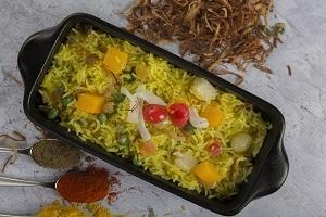 Drivu Kashmiri Pulao أرز كشميري