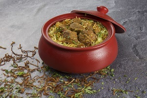 Drivu Hyderabadi Mutton Biryani برياني لحم حيدر ابادي