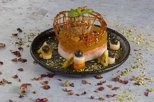 Drivu Vermicelli Fruit Panna Cotta باناكوتا بالفواكه والشعيرية