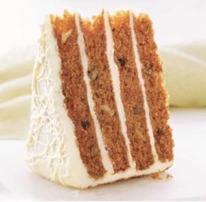 Drivu Four High Carrot Cake