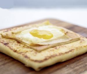 Drivu Cheese Egg Crepe