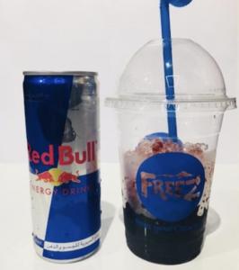 Drivu Red Bull Vimto