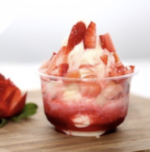 Drivu Strawberry Ice Cream Cup