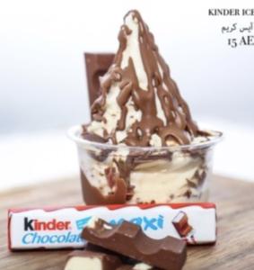 Drivu Kinder Ice Cream Cup