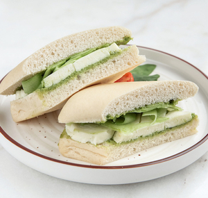 Drivu Halloumi, Basil Pesto Sandwich