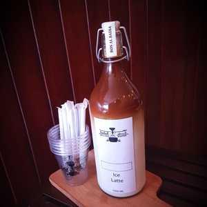 Drivu Iced Latte Bottle 1 liter