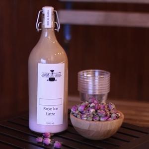 Drivu Rose Ice Latte Bottle 1 liter