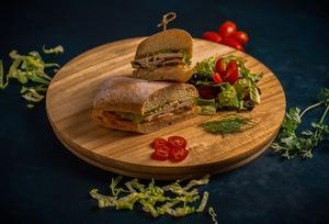 Drivu Turkey Lemon Sandwich