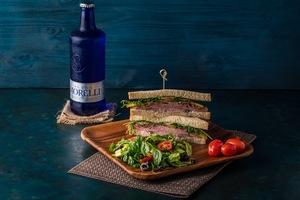 Drivu Beef Pastrami Sandwich
