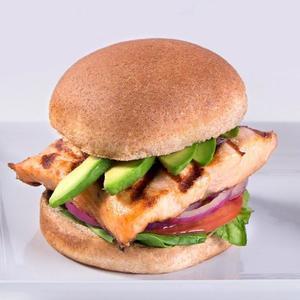 Drivu Salmon Burger