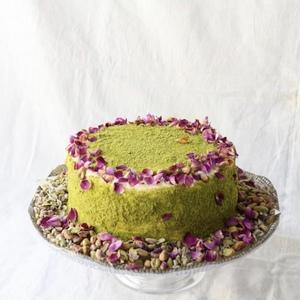 Drivu Rose Pistachio Cake Whole