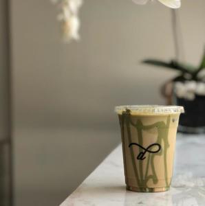 Drivu Iced Pistachio Latte