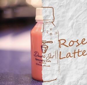 Drivu Bottled Rose Latte 135ml:  6 Bottles