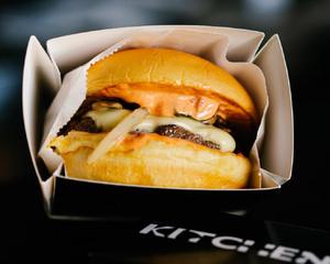 Drivu KC Classic Beef Burger