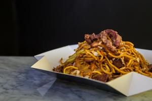 Drivu Lomein Beef Noodles