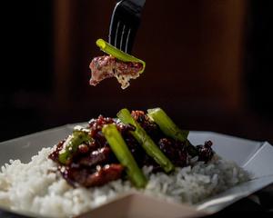 Drivu Shaken Beef Rice