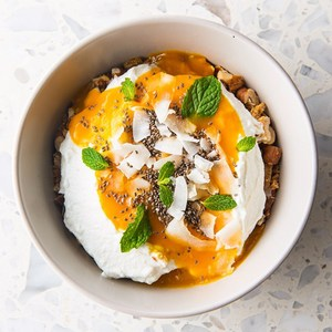 Drivu Mango Yogurt Bowl
