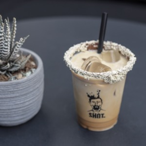Drivu Iced Rahash Latte