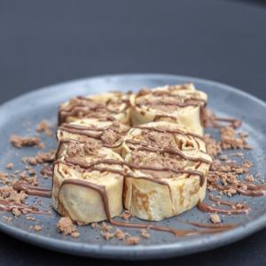 Drivu Nutella Crepe Roll