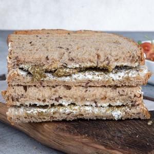 Drivu Labneh & Zaatar Sandwich