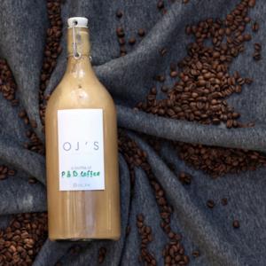 Drivu Peanut Butter Latte - 1 Liter (Cold)