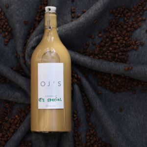 Drivu OJ's Special Latte - 1 Liter (Cold)